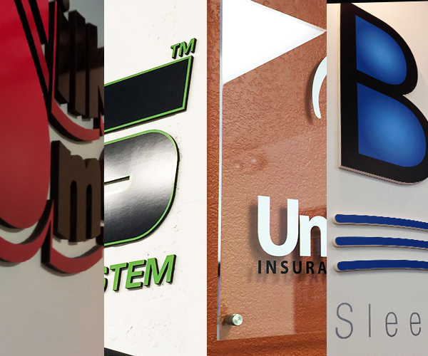 Interior Signs, Lobby Signs, 3d letters, logo on wall